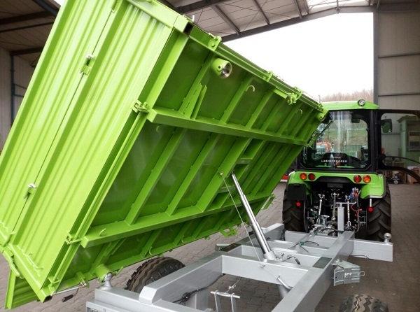 TPS PV 4000 Anhänger Dreiseitenkipper Auflaufbremse