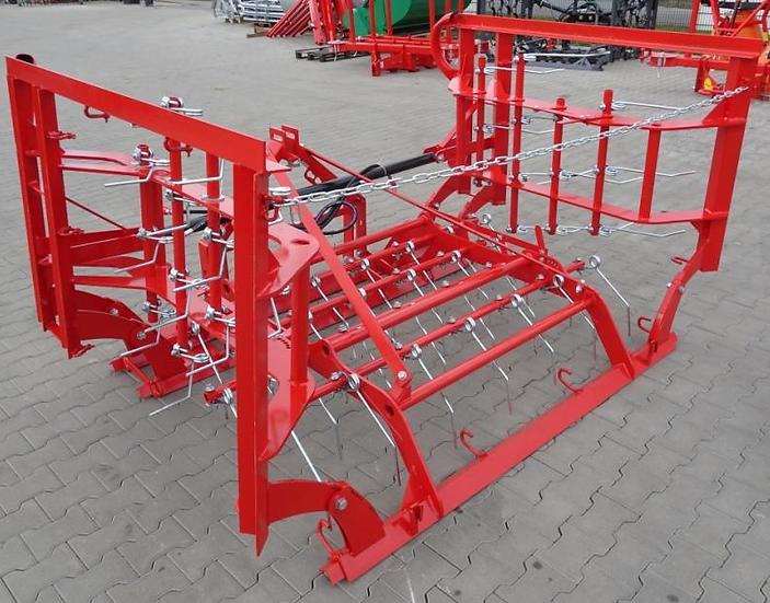 Wiesenstriegel Striegel Schleppe WSK4 4m hydr. NEU