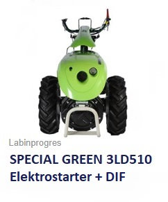 Einachser Special Green 12 PS Diesel +DIF Labinprogres