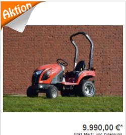 Allradtraktor TYM T 195 Rops
