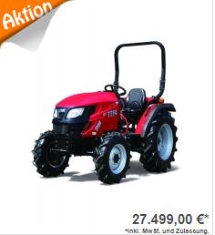 Allradtraktor TYM T395 NC Rops