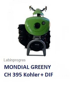 Einachser Labinprogres Mondial Greeny 9,5 PS