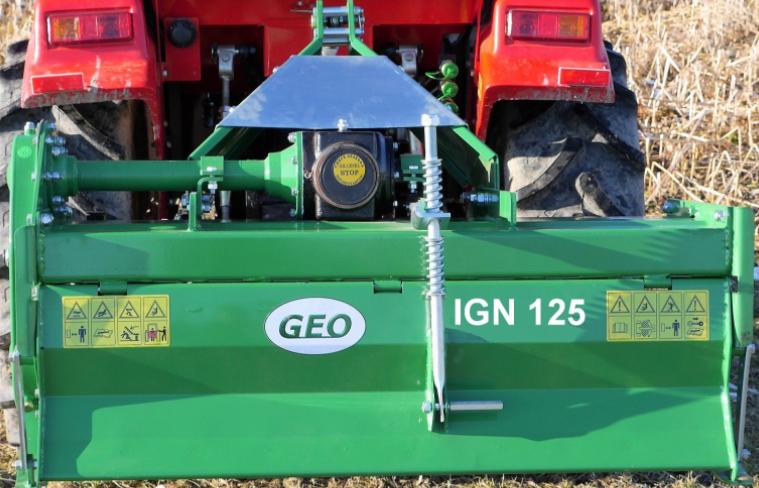 Bodenfräse Geo IGN 125 125 cm Arbeitsbreite schwere Ausführung