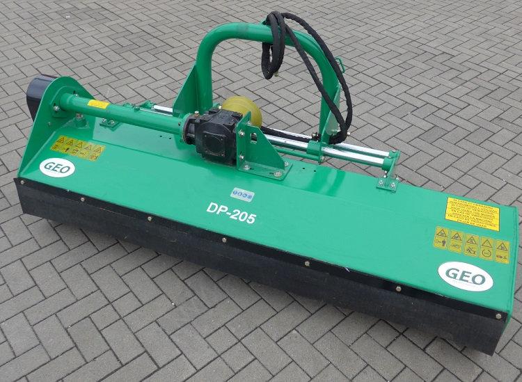Mulcher Geo DP205 205cm Arbeitsbreite hydraulische Seitenverstellung