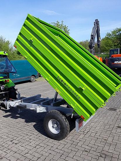 TPS PV 2000 Anhänger Dreiseitenkipper Druckluftbremse