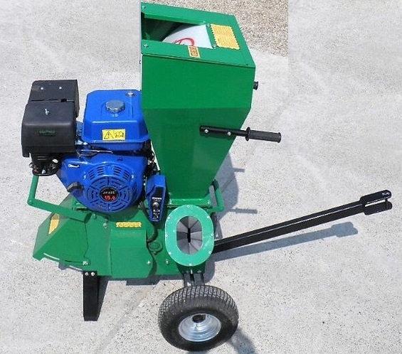 Holzhäcksler Geo Eco7 15 PS Benzin-Motor