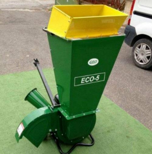 Holzhäcksler Geo Eco5 6,5PS Benzin-Motor