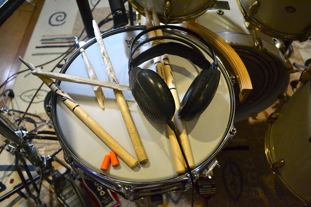 Tracking Drums - Fer Cester session