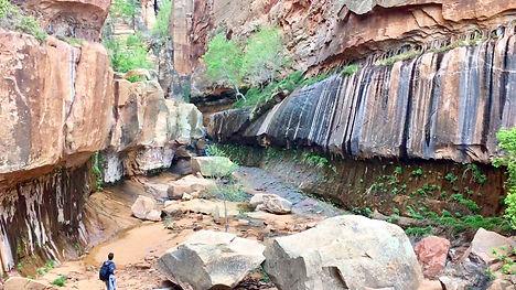 Slot Canyon Tours near Zion