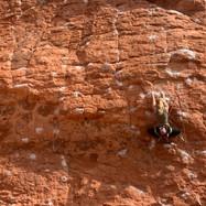 Gabby Rock Climbing