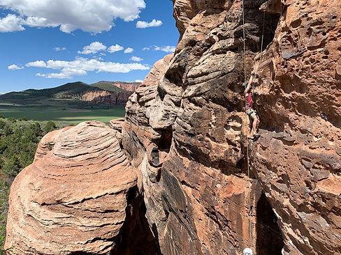 Kolob Climbing Guide Service in Zion