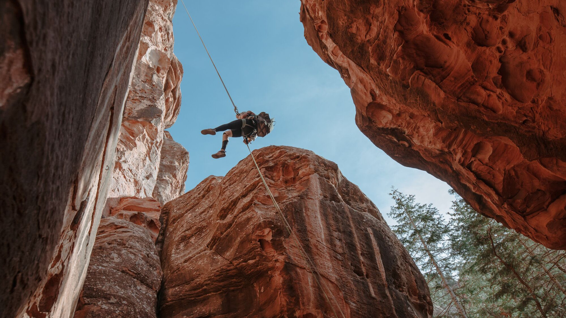Guided Rappelling