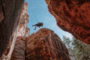 Rappelling Canyoneering Guided Trips