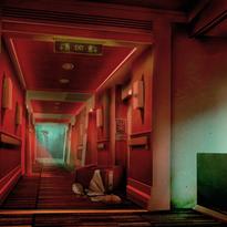 Cainwood-ConceptArt-Hallway-EmergencySta