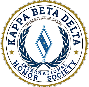 Kappa Beta Delta Official Seal