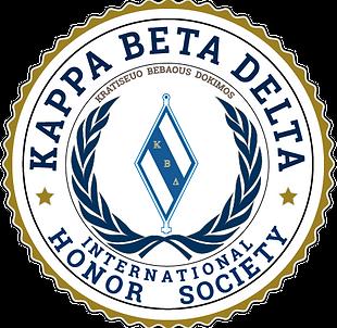 Kappa Beta Delta Official Seal