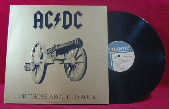 AC/DC,For Those About To Rock Lp