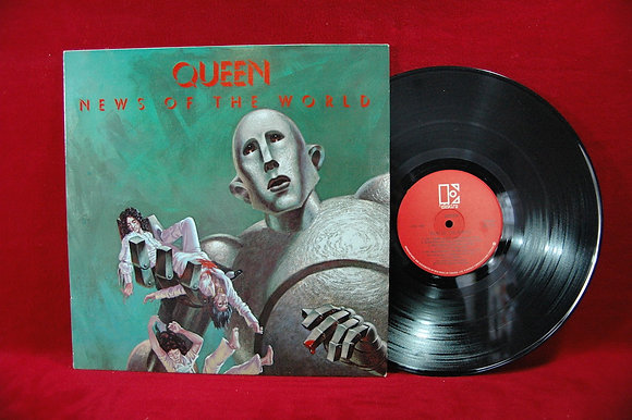 Queen,News Of The World Lp 1977France