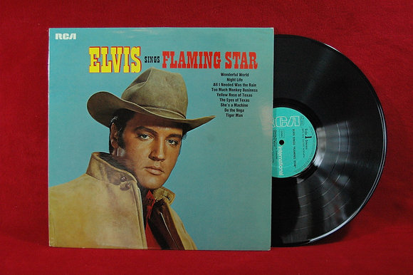 Elvis Presley''Elvis Sings Flaming Star''1970Germa