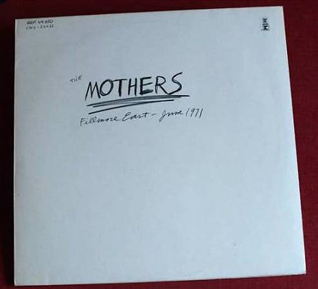 Frank Zappa,The Mothers *Fillmore East - June 19