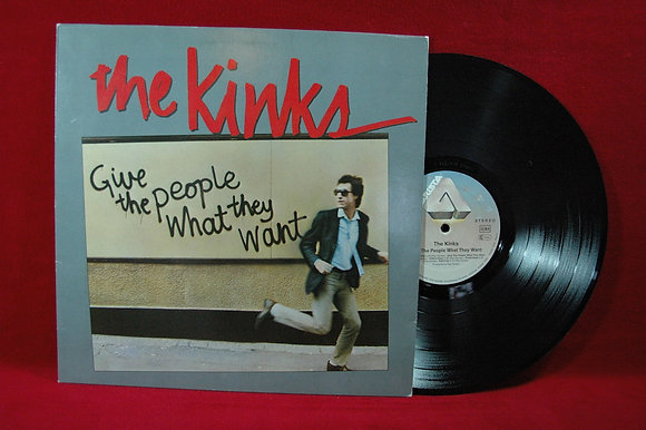 The Kinks,Give The People What They Want Lp