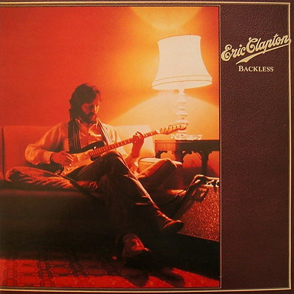 Eric Clapton*Backless*Lp1978 Canada