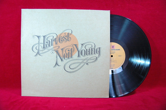 NEIL YOUNG - Harvest, LP orjinal1972 GERMANY
