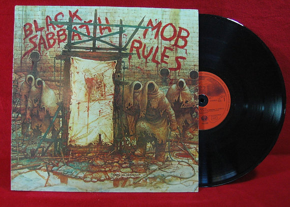 Black Sabbath*Mob Rules*1981 Germany