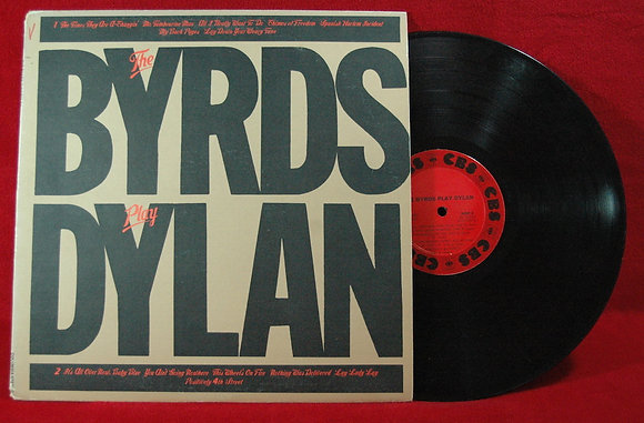 The Byrds,The Byrds  Play Dylan Lp1979 USA