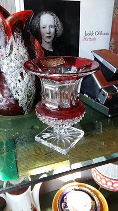 Vintage, (Saınt Louıs Fransa)Kıristal Vazo