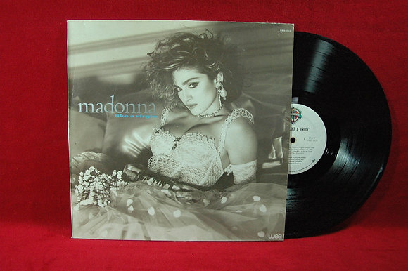 Madonna, live a virgin LP