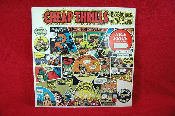 Big Brother & The Holding Company,Cheap Thril Lp(1968,UK)