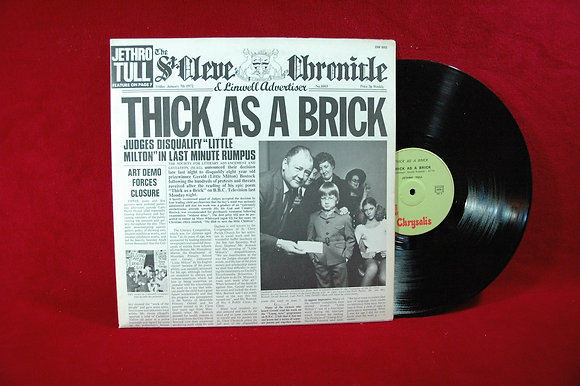 JETHRO TULL -Thick as a Brick Lp 1972 Germany
