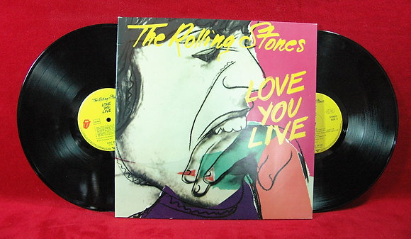 Rolling Stones,Love You Live Lp1977Germany