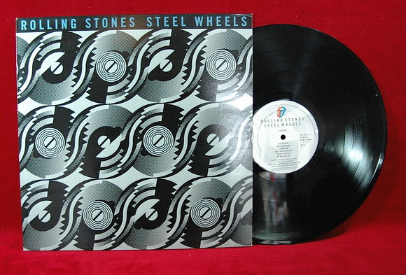 ROLLING STONES,Steel Wheels lp1989 USA
