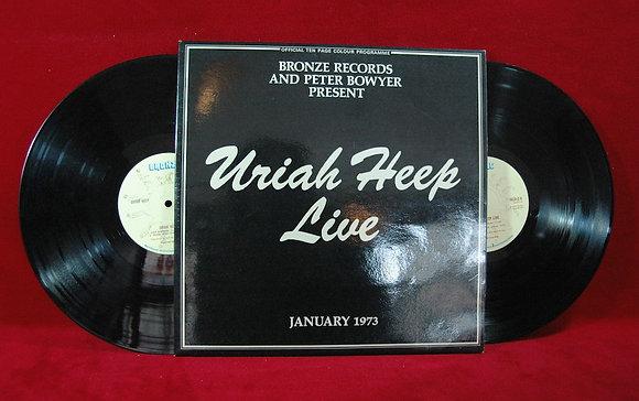 Uriah Heep,Uriah Heep Live lp1973