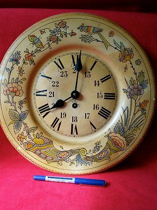 Vintage,Avrupa Kurmalı Duvar Saati