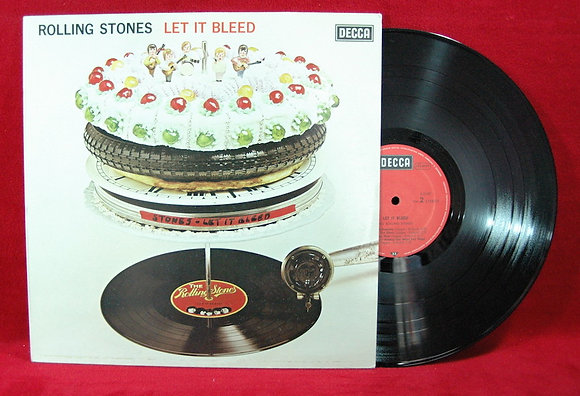 Rolling Stones, Let It Bleed Lp1970 Germany