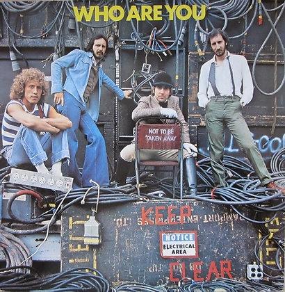 The Who -Who Are You amerikan baski *