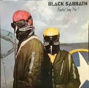 Black Sabbath,Never Say Die Lp1978 Germany