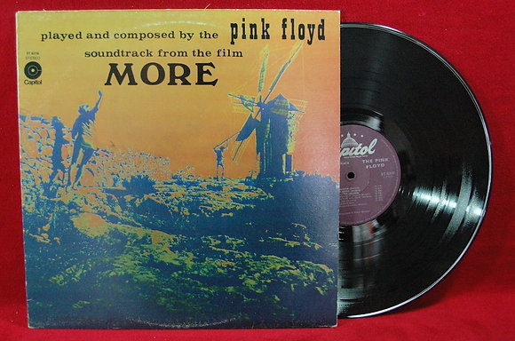 Pink Floyd*More*Lp1969 İtaly