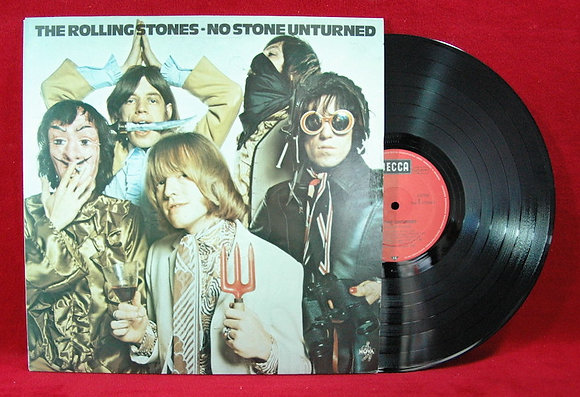 Rolling Stones,No Stone Unturned Lp1973Germany