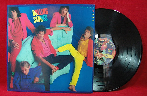 Rolling Stones, The* Dirty Work*Lp1986Holland