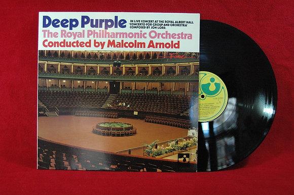 Deep Purple''Royal Philharmonic Orchestra''Lp (1977,İtaly)