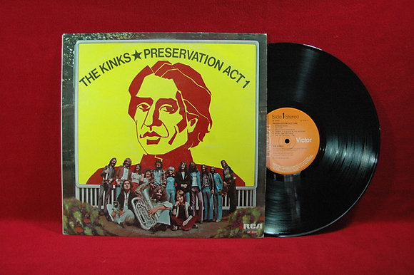The Kinks,Preservation Act 1 Lp 1973England
