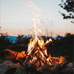 campfire at Glenworth Valley