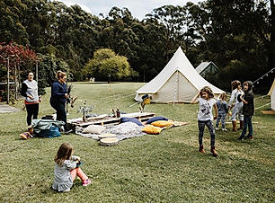 Glamping events can bring families, frie
