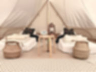 The Wellness Bell Tent Hire