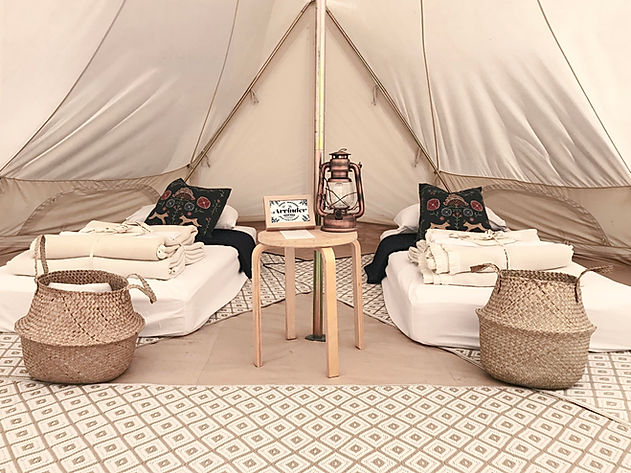 Corporate tipi tent hire experiences