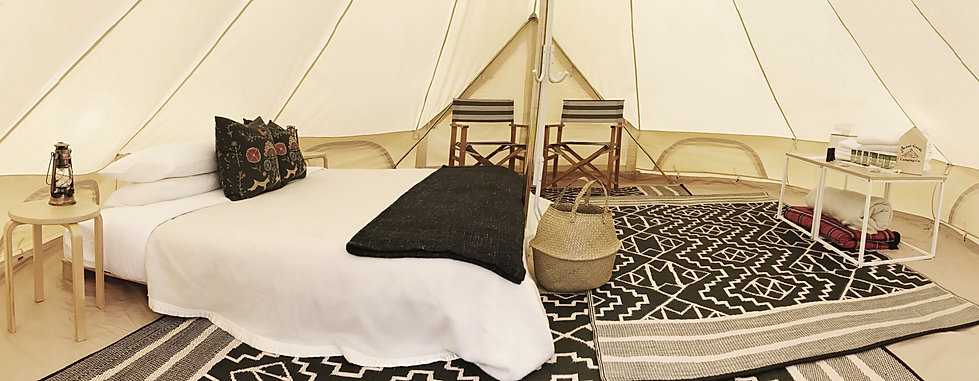 Premium Glamping Tents for Hire